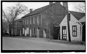 Union Tavern, Main Street between Lee Street & Farmer's Alley, Milton, Caswell County, NC