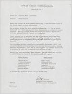 Box EO-4, Folder 7: Durham County (N.C.) Board of Commissioners, Mar. 26-Oct. 20, 1975