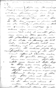 Affidavit of Jackson O'Brien: Albany, Georgia, 1868 Sept. 23