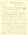 Acting Commissioner of Indian Affairs, H. Price, letter to Indian Agent at Quinault Reservation, Charles L. Willoughby, regarding compensation to Makah children at the Neah Bay Reservation for labor, January 12, 1884