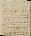William McIntosh letter to D. B. Mitchell, 1820