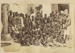 "Slaves taken from a dhow captured by H.M.S. ""Undine"""