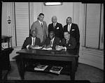 H.U. [Howard University] Medical Convention group, April 1964 [cellulose acetate photonegative]