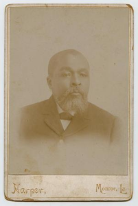 Portrait of a Middle Aged African-American Man With a White Beard