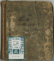 Notebook belonging to Willis Likes, containing information about plantation and domestic life from about 1810 to 1866.