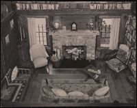 Interior of Five Acres: Living room