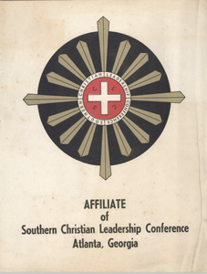 """""""Affiliate of Southern Christian Leadership Conference"""""""