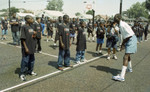 Challengers Boys and Girls Club event participants, Los Angeles, 1996