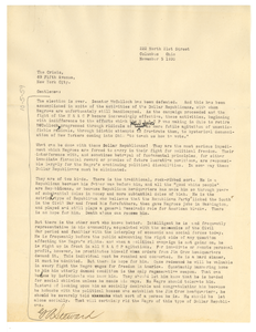 Letter from G. A. Steward to Crisis