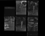Set of negatives by Clinton Wright including Elder Jefferson, and Alpha Kappa Alphas at Fantasy Park, 1969