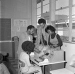 Career Day at Compton College, Los Angles, 1973