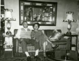 Sumpter D. and Willie Mae Wilkins in their home at 333 Madison Street.