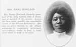 Mrs. Emma Howland