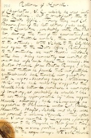 Thomas Butler Gunn Diaries: Volume 21, page 234, February 10, 1863