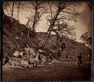 Bombproof quarters Dutch Gap, Virginia
