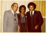 Ben and Frances with John Johnson