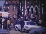 Voting rights rally and demonstration in Selma, Alabama, before the start of the Selma to Montgomery March.