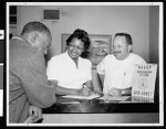 NAACP registration station, Los Angeles, 1961