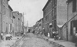 A street in Baltimore well known to charity workers