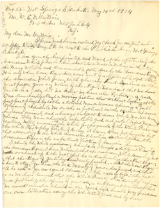 Letter from L. L. Valle to W. E. B. Du Bois