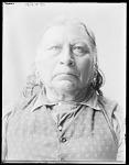 Tawakoni Jim, chief of the Wichita, former U. S. government scout, front view. Oklahoma. Anadarko Wichita. 1904