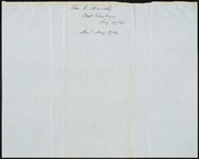 Letter to] Rev. Phelps [manuscript