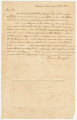 Letter from Thomas Ringold in Linden, Alabama, to John Dabney Terrell in Pikesville, Alabama.