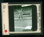 Leslie Mann Baseball Lantern Slide, No. 99