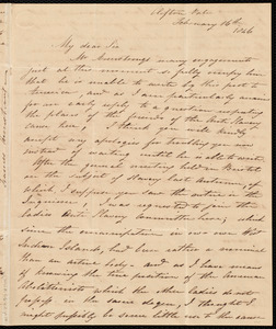 Letter from Frances Armstrong, Clifton Vale, [England], to Samuel May, February 16th, 1846
