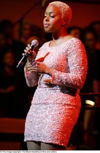 Chrisette Michele singing