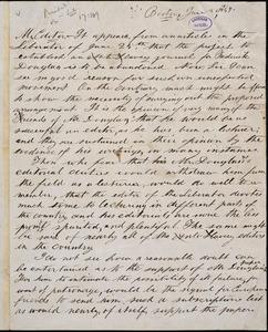 Letter from Libertas, Boston, [Massachusetts], to William Lloyd Garrison, 1847 June 26th