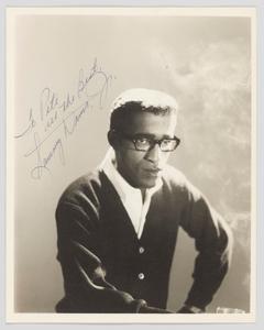 Photograph of Sammy Davis Jr.