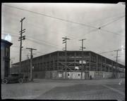 Baseball stadium, likely Stars Park, at the corner of Compton and Market.
