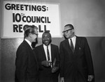 Dick Gregory at the 10th Recall, Los Angeles