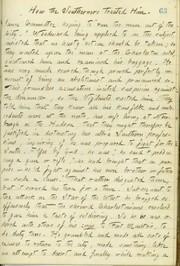 Thomas Butler Gunn Diaries: Volume 15, page 73, January 13, 1861