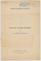 """""""Emerson Normal Institute"""" by Dr. A. T. Burnell."""