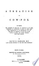 A treatise on cow-pox