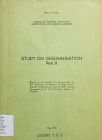 Study on desegregation