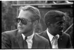 [Paul Newman and Sammy Davis Jr. at the March on Washington for Jobs and Freedom]