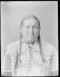 Mrs Leading Hawk, Brule. U. S. Indian School, St Louis, Missouri 1904