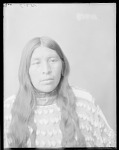 Front view of Wichita Anadarko Indian woman. Oklahoma. before 19121904