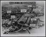 """March on Washington"" map"