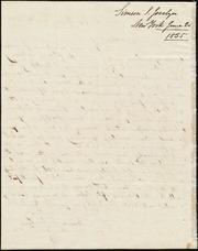 Letter to] Revd. A. A. Phelps, Dear Sir [manuscript