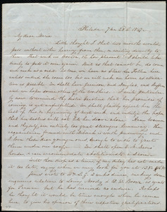 Letter from Lucretia Mott, Philad[elphi]a, [Penn.], to Maria Weston Chapman, 7 mo[nth] 28th [day] 1847