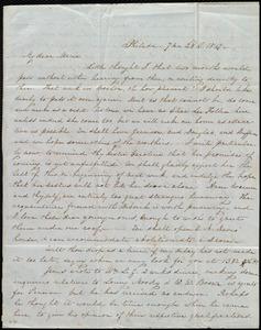 Letter from Lucretia Mott, Philad[elphi]a, [Penn.], to Maria Weston Chapman, 7 mo[nth] 28th [day] 1847