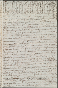 Letter from Mary Anne Estlin, Park Street, Bristol, [England], to Miss Weston, May 8, 1851