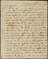 William H. Crawford letter to D. B. Mitchell, 1808