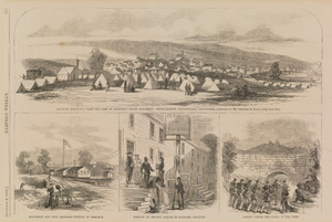 Hancock, Maryland, from Harper's Weekly, November 8, 1862