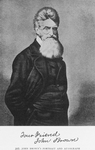 John Brown's portrait and autograph