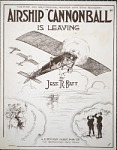 "Airship ""Cannonball"" is leaving / by Jess R. Batt"